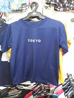 Tokyo Basic Top in Blue