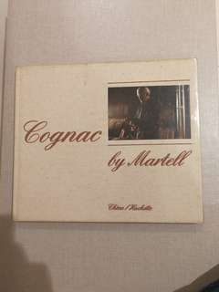 1984 hardcover book on Cognac  Martell
