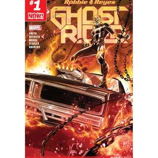 Ghost Rider #1 (Marvel Comics, Avengers, Infinity Gauntlet, Thane, X-Men, Guardian of the Galaxy)