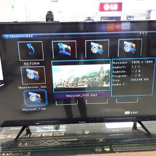 Led Tv Panasonic 43 inch Digital Tv (Kredit Tanpa CC)