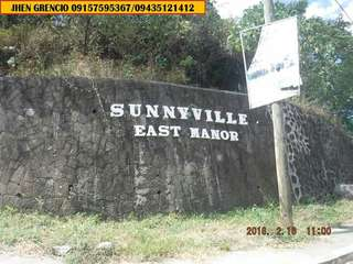 Lots for sale with overlooking view of laguna lake