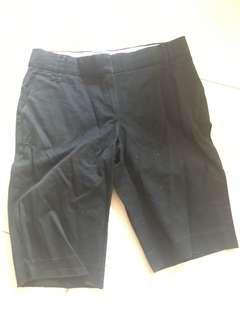Mango Suit Black Bermudas
