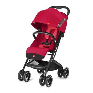 Luxury Travel Stroller gb Qbit+ CHERRY RED Ready Stock.