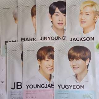 GOT7 It's Skin Face Mask