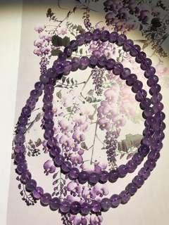 🚚 天然紫水晶鍊 手鍊 項鍊(母親節特惠組)