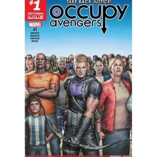Occupy Avengers #1 & #2 (Marvel Comics, Avengers, Infinity Gauntlet, Thane, X-Men, Guardian of the Galaxy)