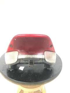 Rxz catalyzer rear bracket and tail light