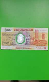 Singapore $50 polymer note