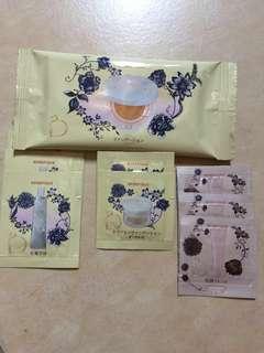 Benefique Japan skincare samples