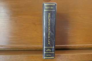 Law book Constitutional Law 1 by Isagani Cruz