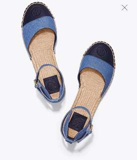 Pre-order: TORY BURCH ANKLE-STRAP ESPADRILLES