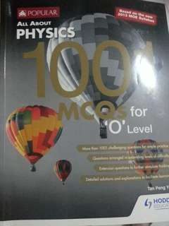 All About Physics  1001 MCQS O'levels