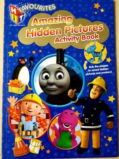Thomas Hidden Picture Activity book