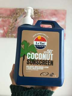 Coconut Sunscreen SPF50+