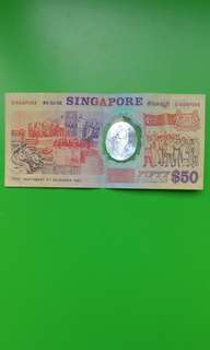 $50 Singapore Polymer Note