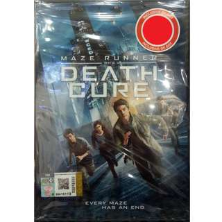 Maze Runner The Death Cure DVD
