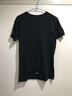 🚚 Huf 街頭 潮牌 黑色 長版 素t tee t-shirt 短袖