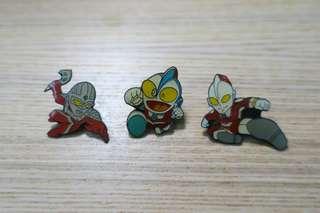 90年代中古咸蛋超人襟章pin