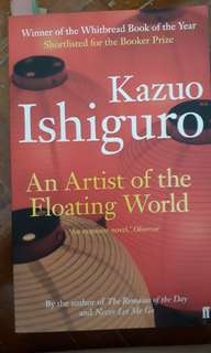 An Artist of the Floating World (Kazuo Ishiguro)