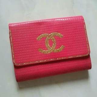 Code : Dompet Besar Chanel Pink