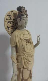 ceramic statue陶瓷摆件: 慈航普渡