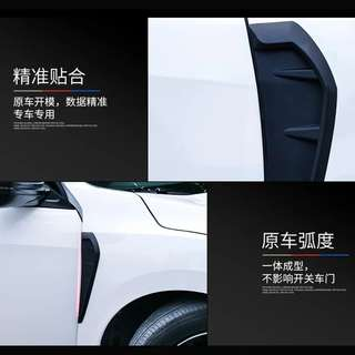 Honda 10th generation civic FC 2016 2017 2018 wide body paste on side fender outlet