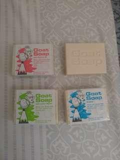 天然羊奶皂 Goat Soap 100g 原味, 椰子, 檸檬
