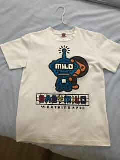 Authentic Baby Milo T-Shirt by A Bathing Ape