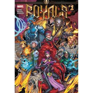 Royals #1 - #6 (Inhumans, Marvel Comics, Avengers, Infinity Gauntlet, Thane, X-Men, Guardian of the Galaxy)