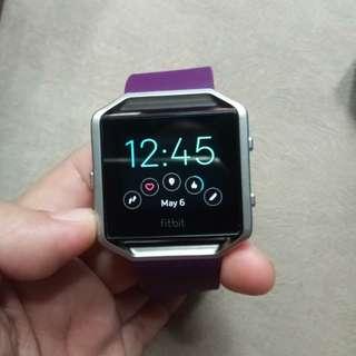 Fitbit purple watch