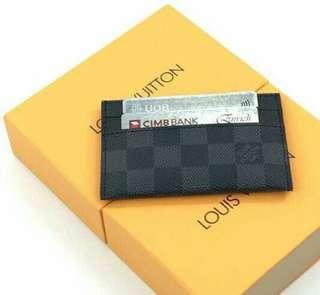 Louis Vuitton Graphite Card Holder