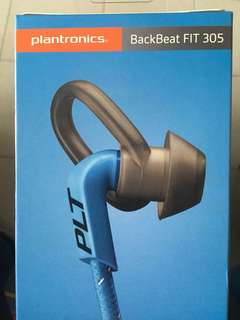 Plantronics BackBeat FIT 305 with fun pack free gifts sport belt bless voucher