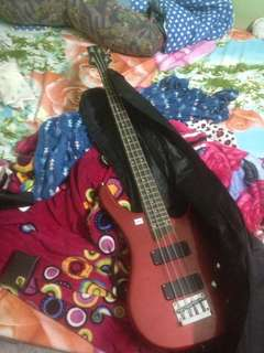 Bass Guitar want to let go