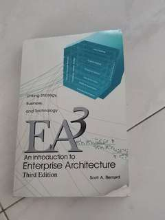 An Introduction To Enterprise Architecture (3rd edition)