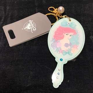 日本迪士尼購入 小魚仙 Ariel 吊鏡及吊飾