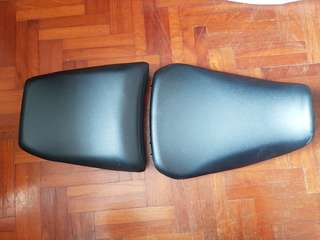 Yamaha MT-09 Tracer Front and Rear Seats
