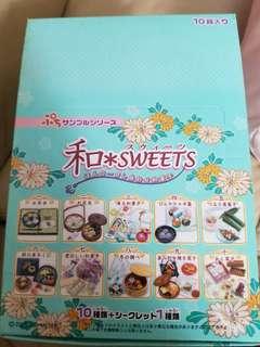 Re-ment 2005年 和 sweet 和菓子 絕版