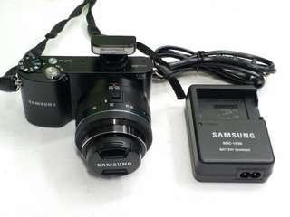 Samsung NX1000 20.3MP Wifi Digital Mirrorless Camera & 20-50MM Lens black