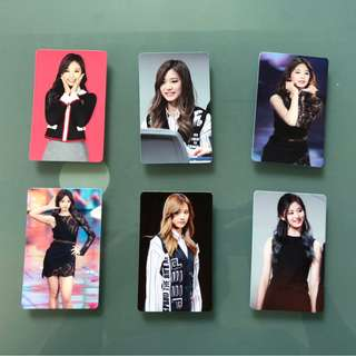 Tzuyu unofficial Photocards