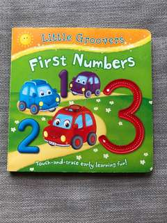 Touch and Trace Number Book