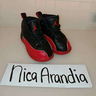 Authentic Jordan 12 8c 14cm