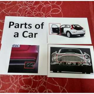 Parts of a Car - BN Flashcards