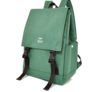AT-H1151 [Anello] Green Flip Flop Rucksack   100% GENUINE !