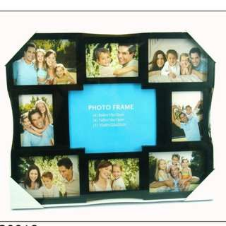 9 Slots Collage Photo Frame