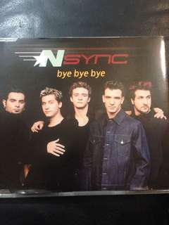 Nsync- Bye Bye (cd single)