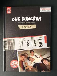 One Direction: Take Me Home Yearbook Edition