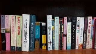 FICTION BOOKS FOR SALE
