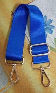 Preloved Royal Blue seatbelt strap