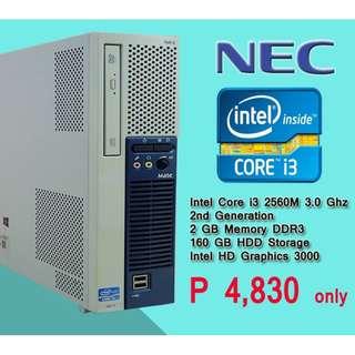 NEC core i3 2nd gen cpu only super sale murang mura na