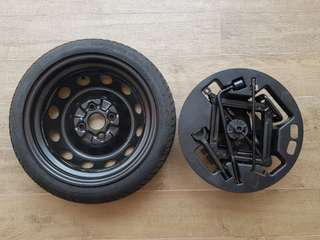 Kia Picanto Spare Tyre and Kit